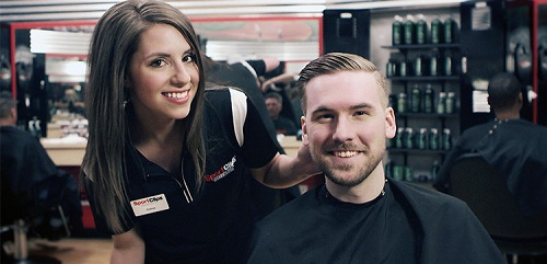 Sport Clips Haircuts of Clarksville East​ stylist hair cut